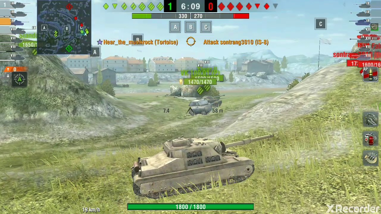 топ 3 танка 9 уровня world of tanks blitz